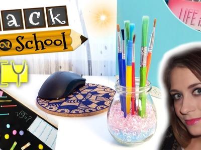 DIY ORGANIZACJA BIURKA i TABLICY back to school ❤ TheAmmisu