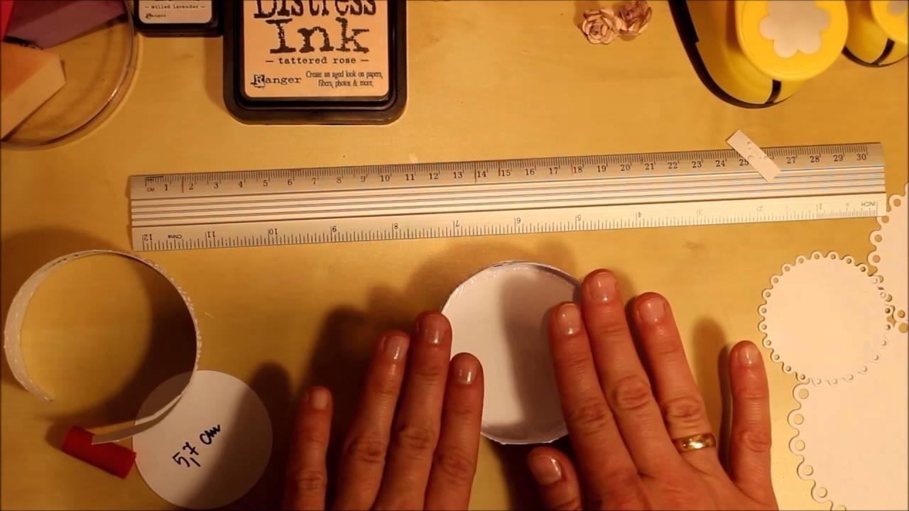 [DIY] Torcik do exploding boxa :) scrapbooking