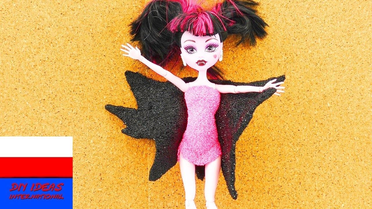 Przebranie na imprezę Halloweenową | DIY kostium z masy piankowej
