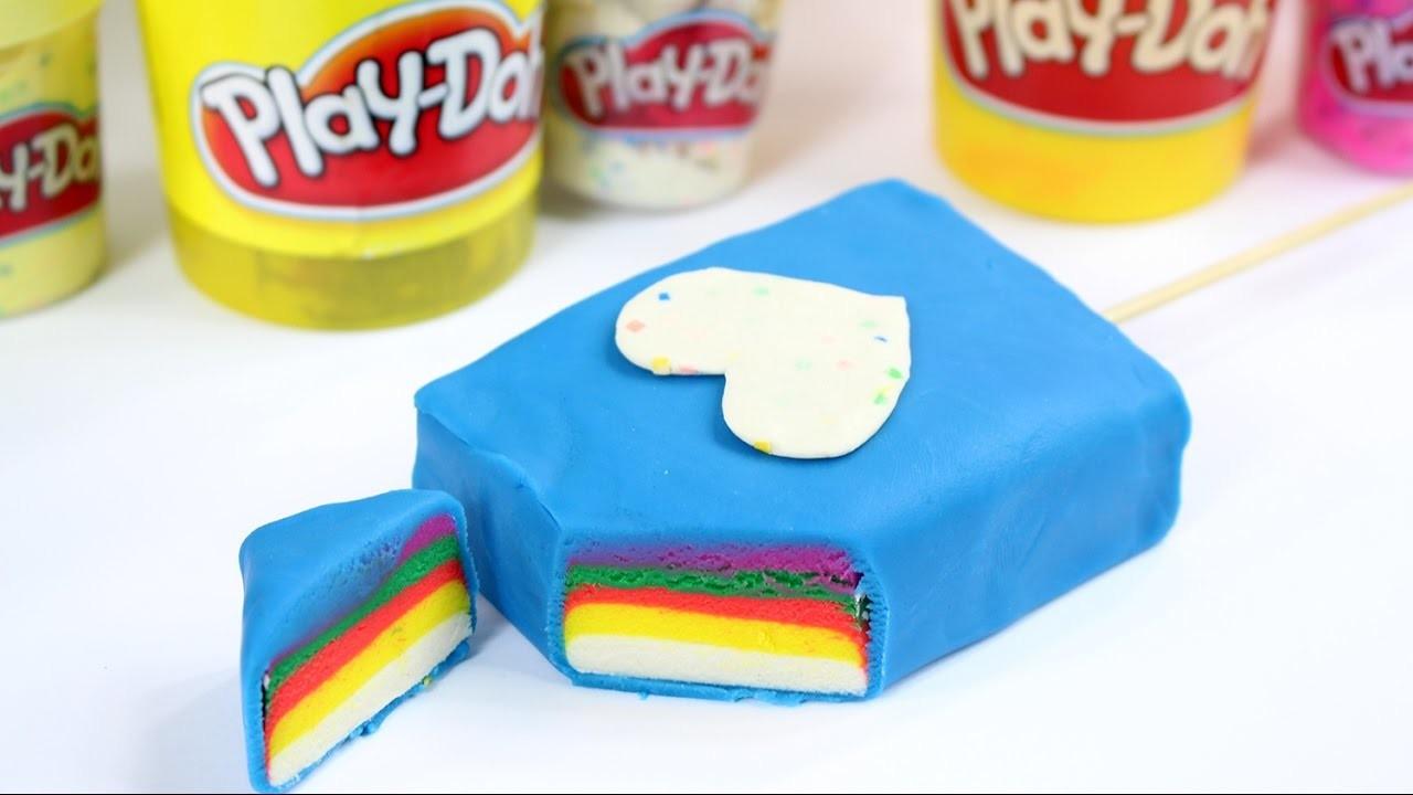 DIY - Play-Doh - Zrób Kolorowego Loda na Patyku! - Tutorial - Kreatywne Czwartki
