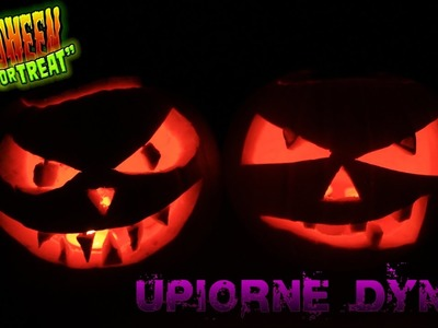 Scary pumpkins - Upiorne dynie na Halloween - DIY - Zrób to sam