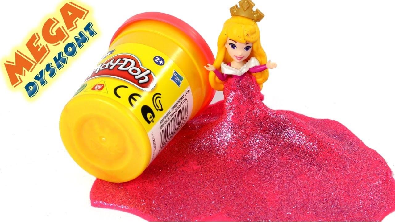 DIY - Dress Sleeping Beauty - How to do? - Disney Princess & Play-Doh