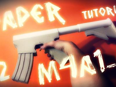 Paper m4a1-s Tutorial (CS:GO) #2