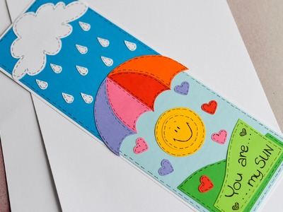 How to Make - Cute Greeting Card Valentine's Day - Step by Step | Kartka Na Walentynki