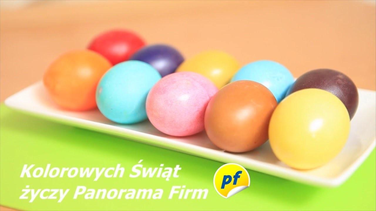 Wielkanocne kolorowanie DIY