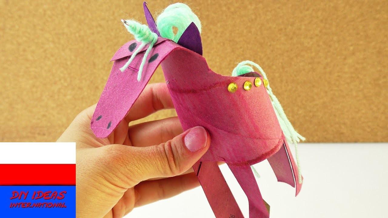 Jednorożec | Unicorn Power | robimy jenorożca z rolki po papierze kuchennym