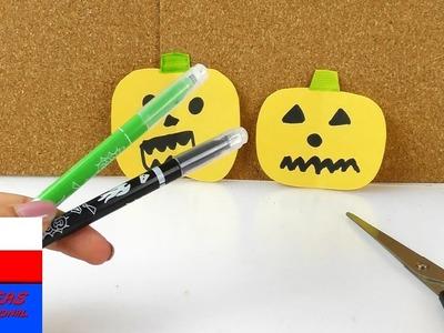 Dynie z papieru jako dekoracja jesienna lub Halloweenowa | proste i szybkie