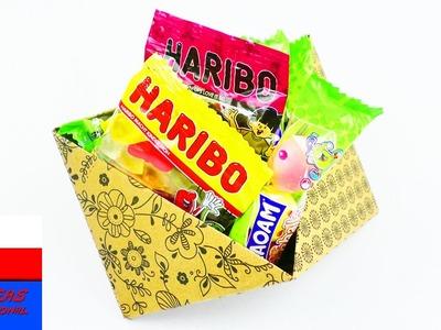 Małe pudełko z papieru | origami dla dzieci | dekoracja