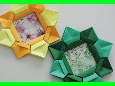 Ramka Origami na Zdjęcia. Origami Photo Frame