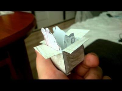 PaperCraft.Odc 1. Między nami misiami