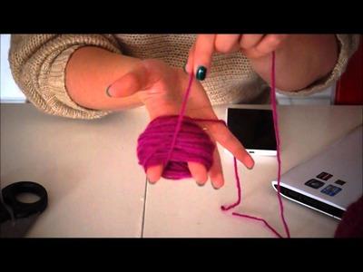 DIY Pompony z włóczki