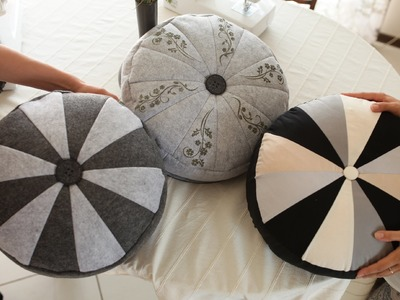 Szycie#5 Poduszka - pufa | Sewing floor pillow