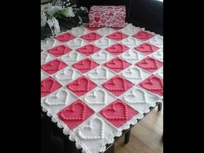 No 59# pled na szydełku część 3 z 3 - blanket on the crochet - PART 3 - 3