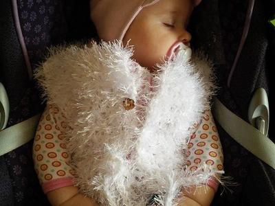No 60# bolerko na szydełku od 6-12 miesięcy - bolero on the crochet 6-12 months