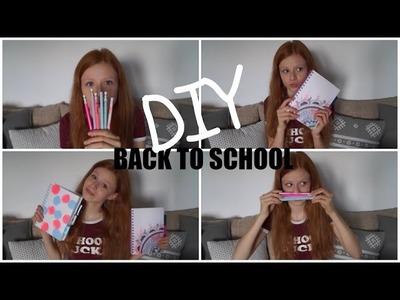 BACK TO SCHOOL 2016 | DIY | zakładki & zeszyty & ołówki