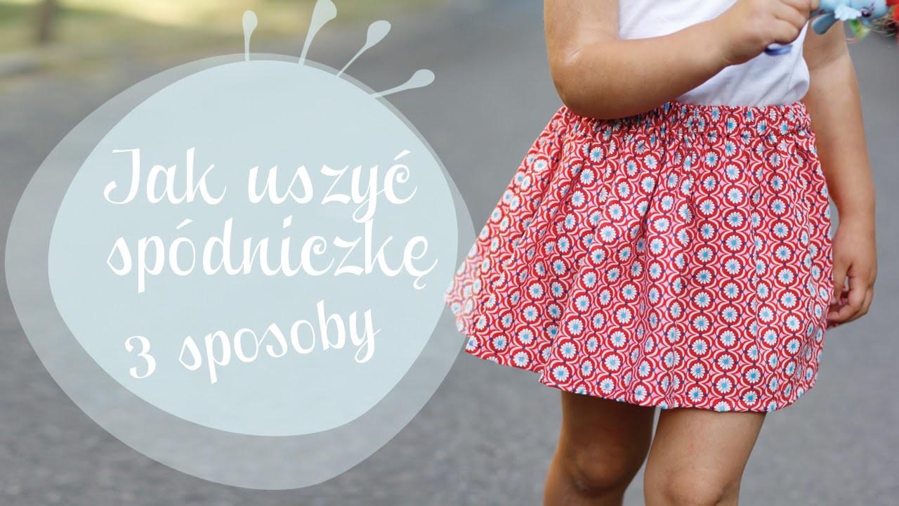 Kurs szycia dla początkujących, odcinek 14 – jak u szyć spódniczkę (na 3 sposoby) - oulala.pl