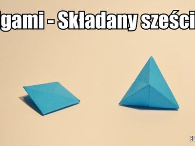 Origami - Składany sześcian