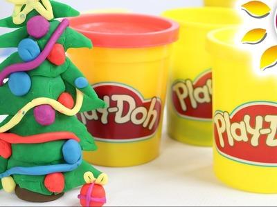 Jak zrobić Choinkę z ciastoliny Play Doh? - Zrób to sam! - Kreatywne Zabawy