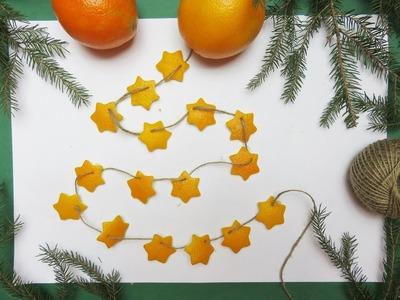Pomarańczowy łańcuch