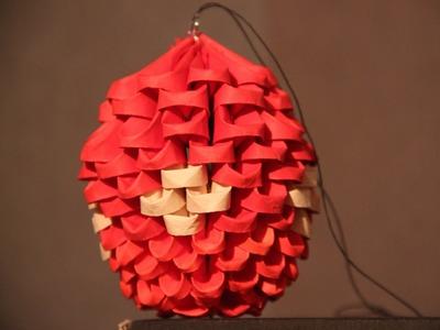 #17 Mini Bombka - Origami modułowe
