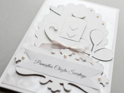 How to Make - Greeting Card Baptism - Step by Step DIY | Kartka Chrzest