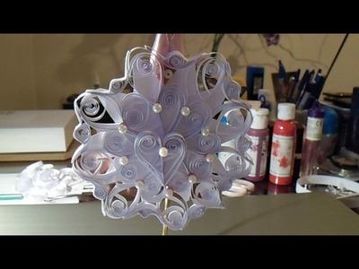 Quilling dekoracja DIY