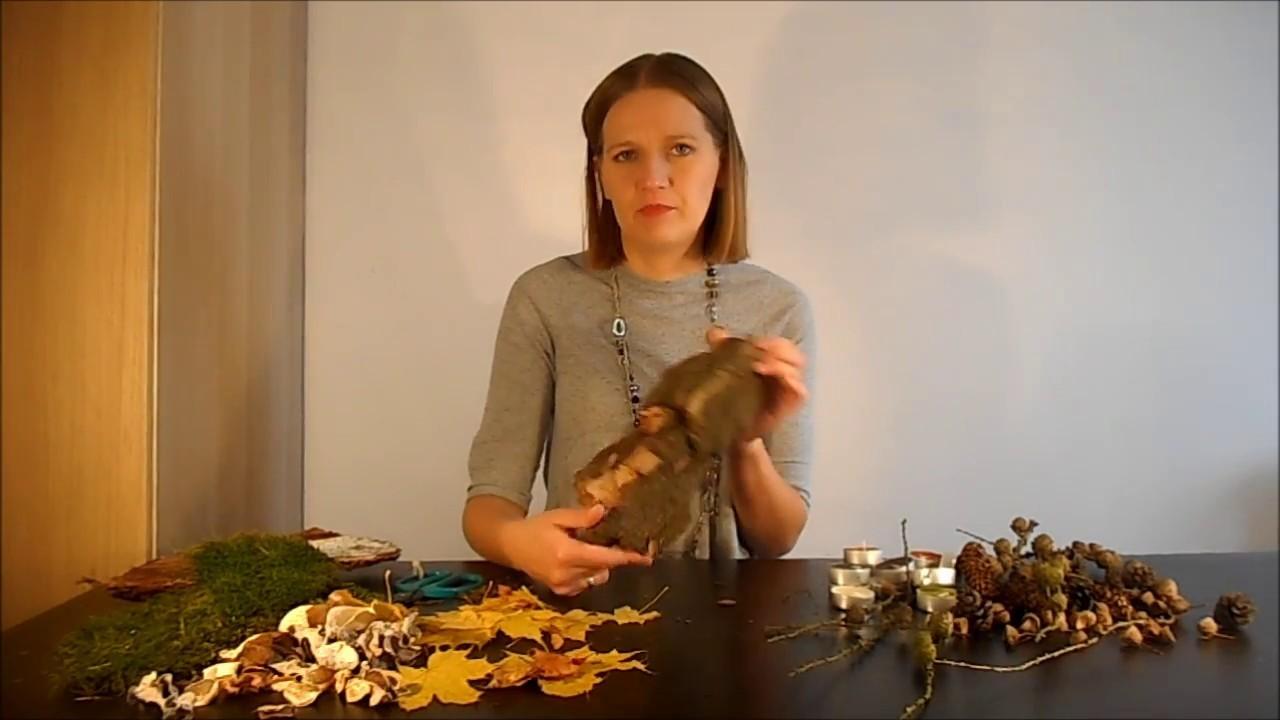 #26 DIY Świecznik z Darów Jesieni - Ekspresowa Dekoracja