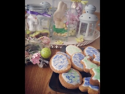 DIY 2 Wielkanocne, pastelowe ciasteczka