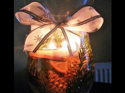 Zrób to sam: Dekoracje świąteczne: świecznik Bożonarodzeniowy II