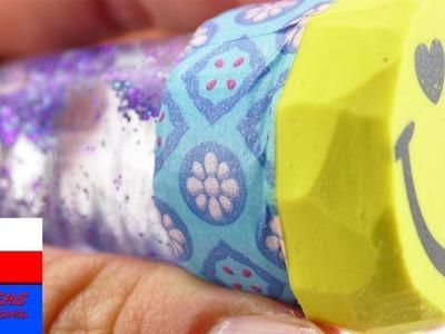 DIY Inspiration | wyzwanie #77 gumki do mazania | gumka ze śniegiem