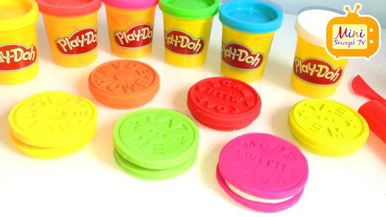 Jak zrobić ciasteczka z ciastoliny Play-doh | DIY | Zrób to sam | Zrobione w domu