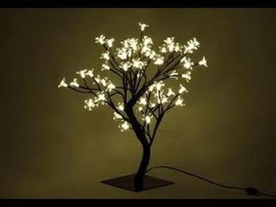Jak zrobić świąteczne drzewko świecące? ozdoby świąteczne #10 How to make a glowing Christmas tree