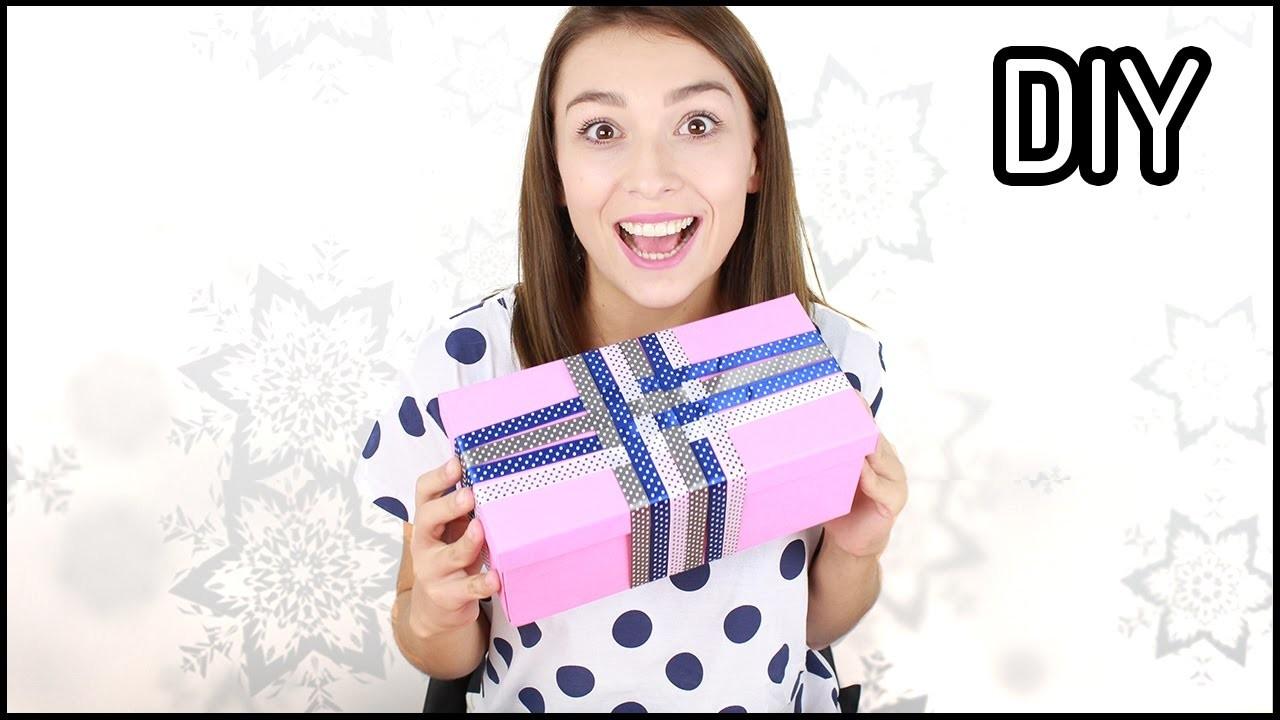 DIY: PAKOWANIE PREZENTÓW na święta ❤ Mój sposób - tutorial krok po kroku | Domodi TV