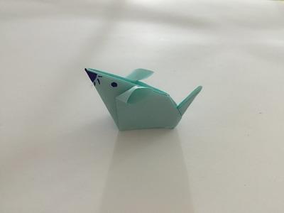 Jak zrobić myszy z papieru origami po polsku