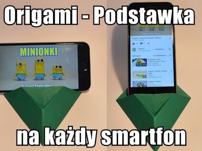 Origami - Podstawka na każdy smartfon