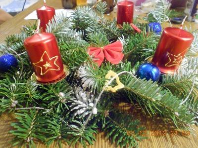 Jak zrobić świąteczny stroik (Wieniec Adwentowy). How to make a Advent wreath