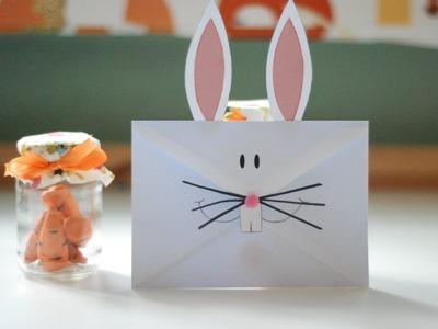 Koperta - Zajączek wielkanocny. Envelope - Easter Bunny