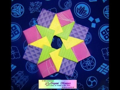 Origami Maniacs 74: Origami Mandala By Tomoko Fuse