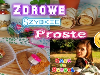 BACK TO SCHOOL Szybkie i proste śniadania Breakfast ideas ❤ TheAmmisu