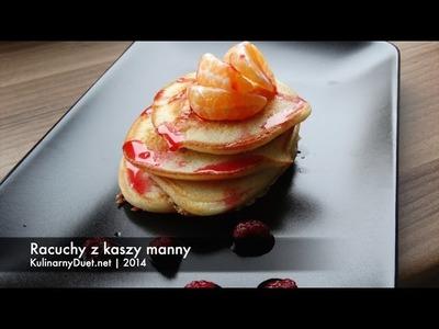 Racuchy z kaszy manny - szybkie i zdrowe śniadanie