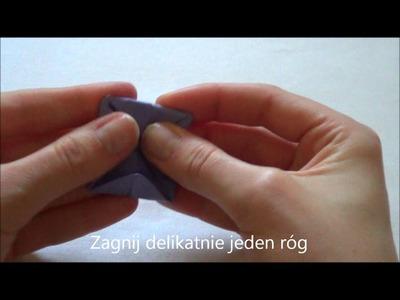Lilia wodna origami