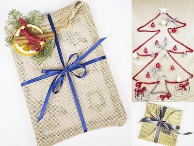 Jak pakować prezenty? Jak spakować prezent? Jak spakować prezent pod choinkę? DIY Gift Wrapping