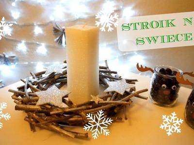 DIY Stroik na świecę z patyczków | DzienBezKawyTV