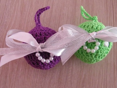 No 91# Bombka na szydełku nr 6 - Christmas ball on Crochet nr 6