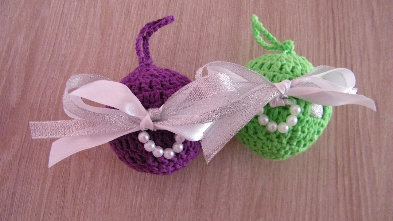 No 91# Bombka na szydełku nr 6 - Christmas ball on Crochet nr 6