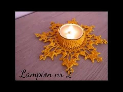 No 94# Lampion na szydełku nr 2 - Lampion on crochet nr 2