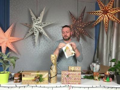 Sposób na.  pakowanie świątecznych prezentów. DIY Christmas Gifts Paking ideas S01 E08