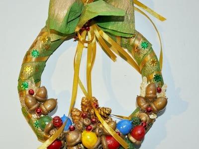 Jak zrobić wianek   DIY # Christmas decorations diy