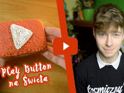 I GOT YOUTUBE PLAY BUTTON FOR CHRISTMAS?! | Przycisk YouTube z piernika DIY!