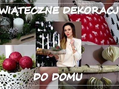Świąteczne dekoracje do domu | 10% rabatu | DIY, H&M, Pepco, Otulanki | xmas decorations
